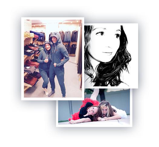 Über mich Collage